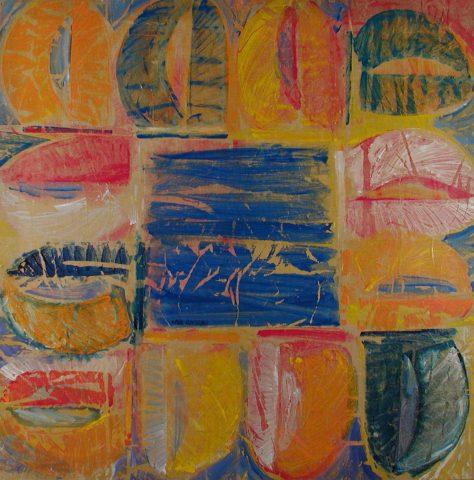 Spinnaker Beat -122 x122 cm