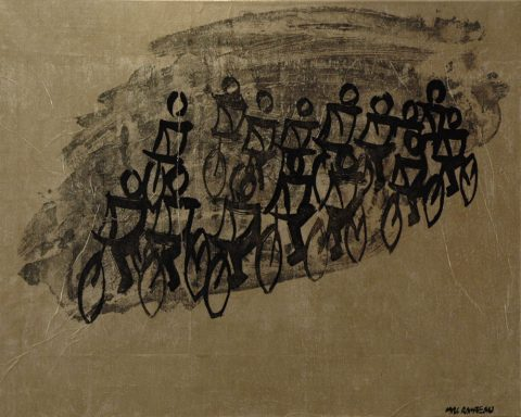 Beijing olympic biking-81 x102 cm