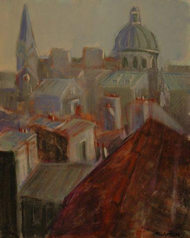 Paris Roofs-76 x61 cm