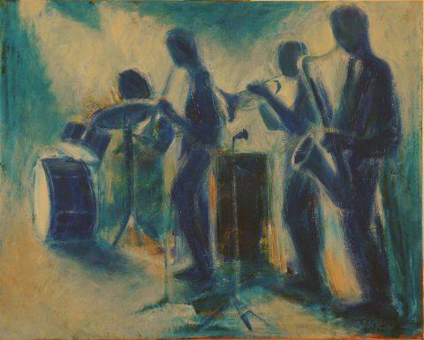 Blues-61 x76 cm
