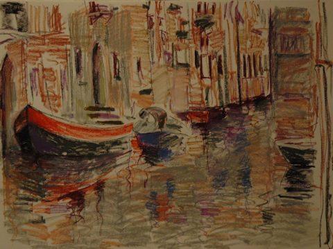 Venice Sketch-56 x76cm