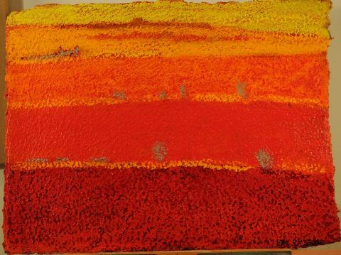 Hawker Landscape  - 56x76cm